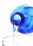 L'eau étudiante à fond Photographie stock