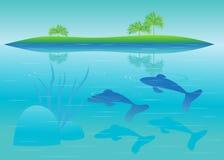 L'eau. illustration de vecteur