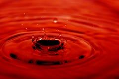 l'eau abstraite de baisse Image libre de droits