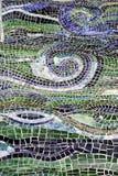 l'eau abstraite de mosaïque image stock