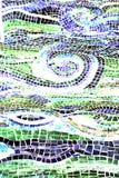 l'eau abstraite de mosaïque de backgro photos stock