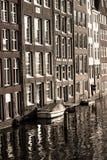 L'eau Amsterdam avant photo libre de droits