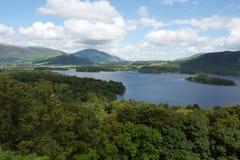 l'eau anglaise de lac de district derwent Image stock