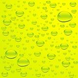 L'eau avec des bulles Image libre de droits