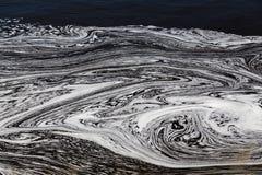 L'eau avec des modèles de Swirly image libre de droits