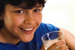 L'eau avec un sourire Photographie stock libre de droits
