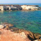 L'eau azurée Photo stock