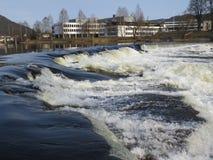 L'eau blanche Photo libre de droits