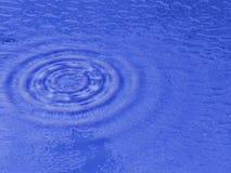 L'eau bleue Photo libre de droits
