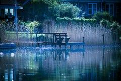 L'eau bleue Photographie stock