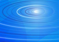 L'eau bleue abstraite ondule le fond Photo stock