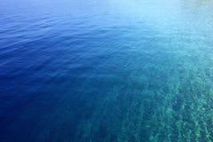 L'eau bleue photos stock
