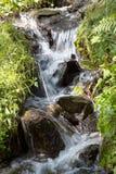 L'eau circulant vers le bas Photo libre de droits