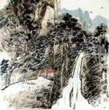 l'eau circulante de haute montagne Illustration Libre de Droits