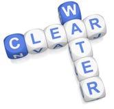 L'eau claire Image stock