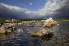 L'eau claire Photos libres de droits