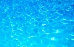 L'eau claire d'océan Photo libre de droits