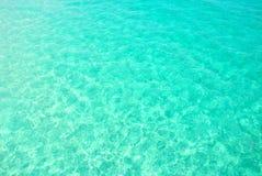 L'eau claire d'océan Image libre de droits