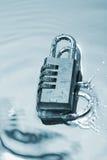 l'eau d'éclaboussure Photo libre de droits