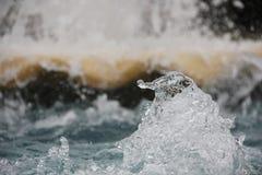 L'eau d'éclaboussure Photo stock