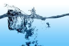 l'eau d'éclaboussure Image stock