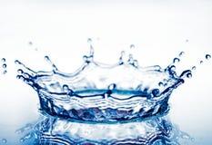 l'eau d'éclaboussure de corona Images libres de droits