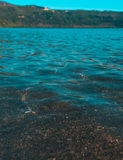L'eau d'Albano Lake photos stock