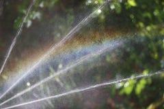 L'eau d'arc-en-ciel Images libres de droits