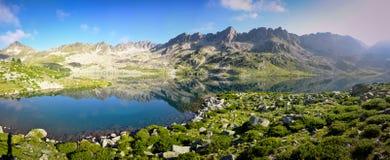 L'eau d'espace libre de Cristal dans un lac mountain Images libres de droits