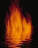 l'eau d'incendie images stock