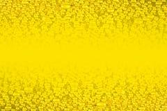 L'eau d'or relâche le fond Image libre de droits