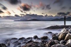 L'eau dans Ibiza Photographie stock libre de droits