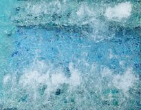 L'eau dans le jacuzzi Photo stock