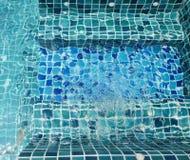 L'eau dans le jacuzzi Photos libres de droits