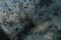L'eau dans pluvieux Image libre de droits