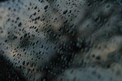 L'eau dans pluvieux Photo libre de droits