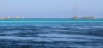 L'eau de Bahama Image libre de droits