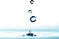 l'eau de baisse Photo stock