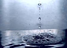 l'eau de baisses Photo libre de droits
