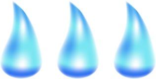 l'eau de baisses Images stock