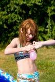 l'eau de ballons Images stock
