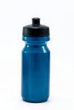 L'eau de bouteille sur le fond blanc d'isolement Images stock