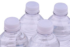l'eau de bouteilles photos stock