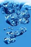 L'eau de bulle images stock