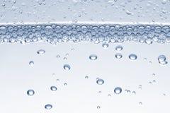 l'eau de bulles Photographie stock libre de droits