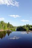 L'eau de cascade Photographie stock libre de droits