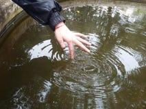 L'eau de cercle Images libres de droits