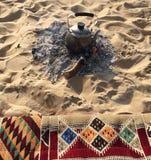 L'eau de chauffage Photos libres de droits