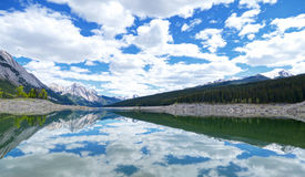 L'eau de ciel de nuage Photos libres de droits