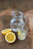 L'eau de citron Photos libres de droits
